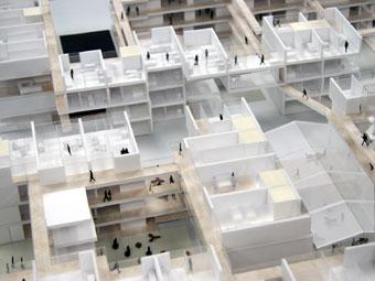... 空間特性を活かした集合住宅の